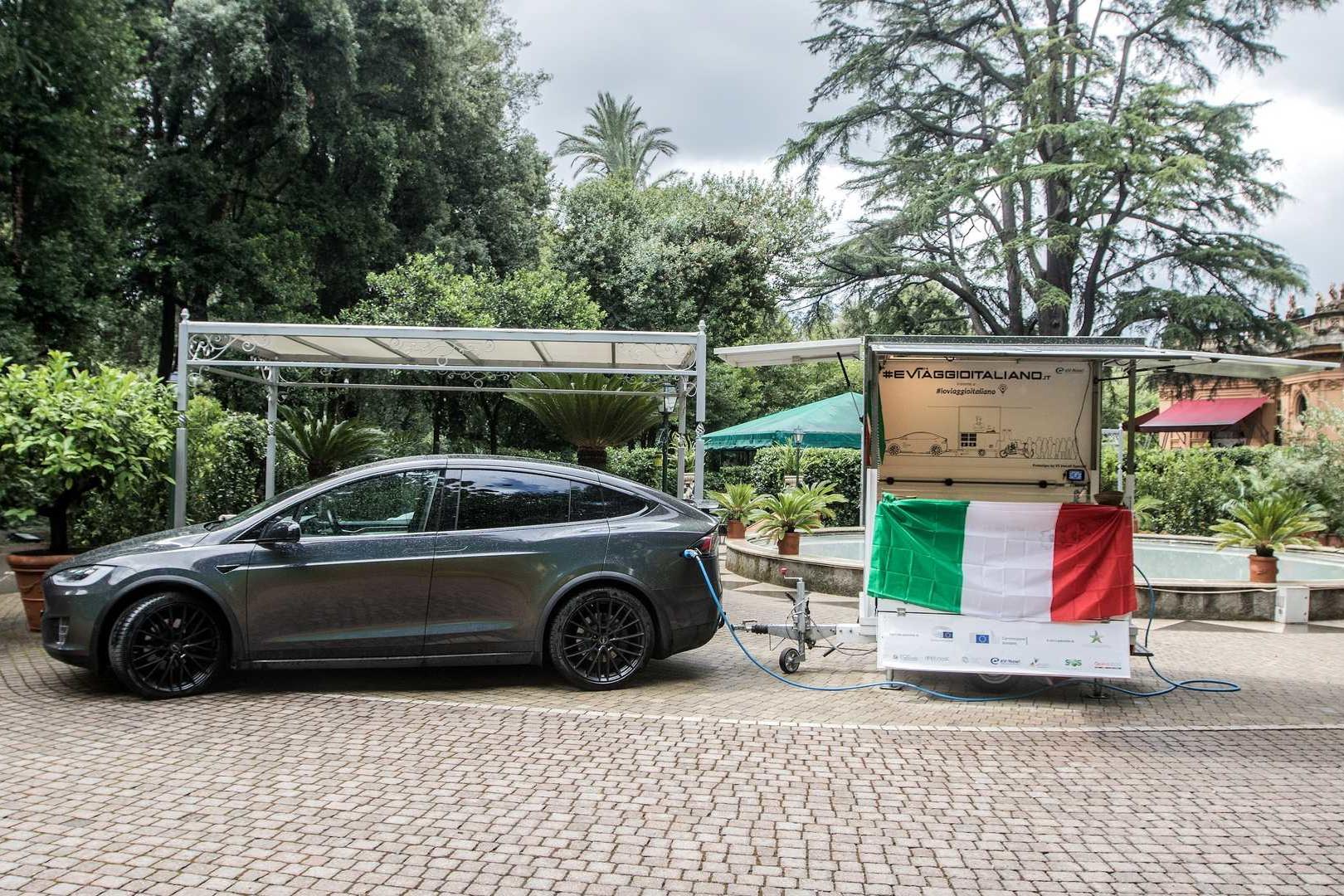 Il 4 settembre parte dalla Campania #EViaggioItaliano, il tour elettrico con la prima cucina mobile al mondo alimentata ad energia solare