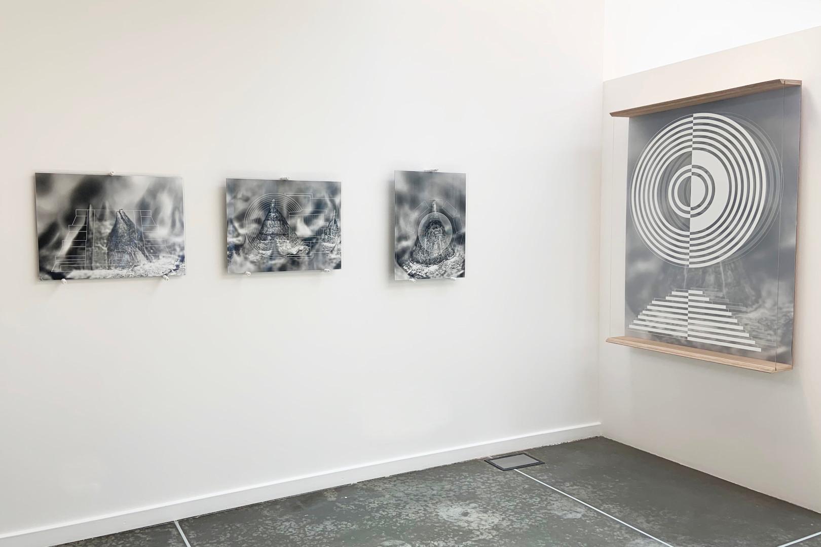 Una veduta della mostra 'Resistenza Resilienza' di Michele Guido al 'Pav' di Torino