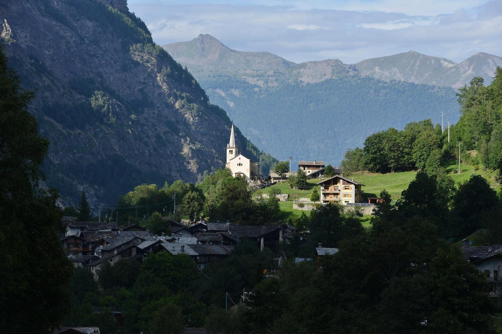 Una panoramica di Rhêmes-Saint-Georges